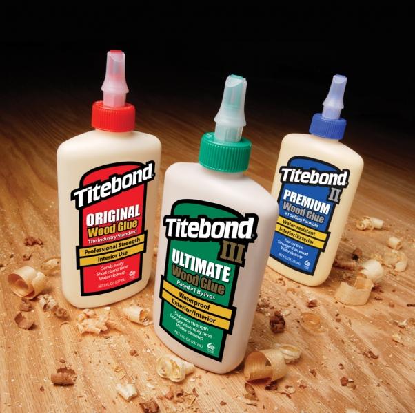 Titebond TitebondII and TitebondIII Glue