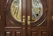 Signature Moon Door with Custom Glass
