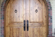 Trustile Knotty Alder Door