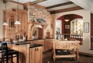 Wellborn Rustic Kitchen