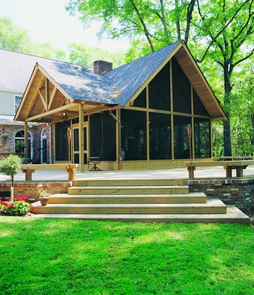 Outdoor Porch and Deck