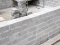 Block Foundation Wall